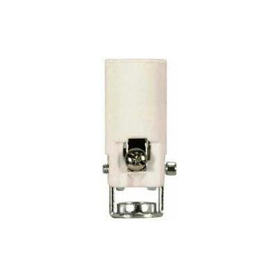 Satco 80-1893 1-1/2-in. Candelabra - Porcelain Socket w/Paper Liner