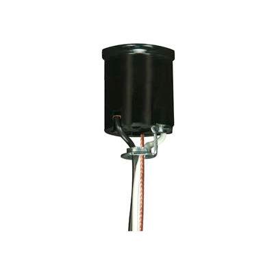 Satco 80-2036 Keyless Lampholder - Medium Base w/Rim