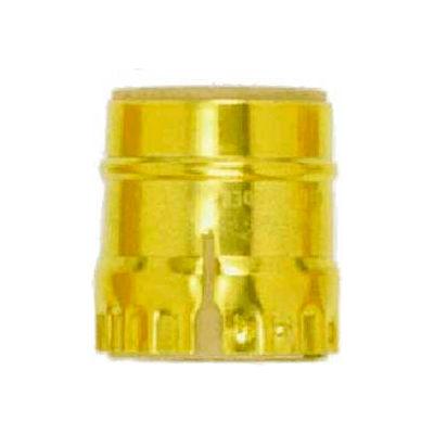 Satco 90-1146 Aluminum Shell - Short Keyless - Brite Gilt