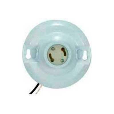 Satco 90-2580 GU24 Fluorescent Porcelain Receptacle with Lead