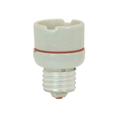 Satco 90-2589 Medium to Medium Glazed Porcelain Extender