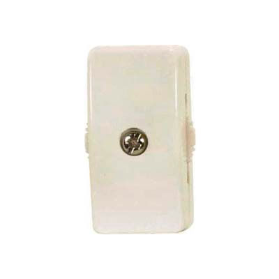Satco 90-2629 On-Off Cord Switch for 18/2 SPT-2  Ivory