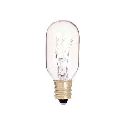 Satco S3905 15t7c 15w Incandescent W/ Candelabra Base Bulb - Pkg Qty 10