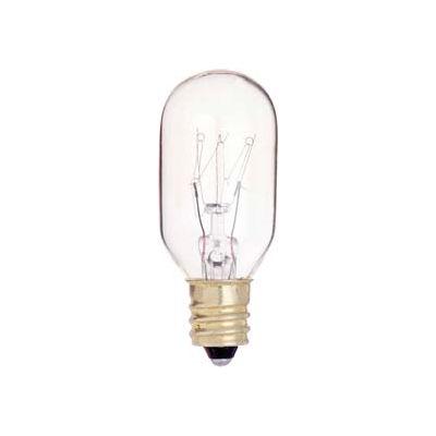 Satco S3907 25t8/C 25w Incandescent W/ Candelabra Base Bulb - Pkg Qty 10