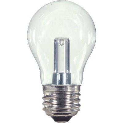 Satco S9150 1.4W LED A15 Medium Base Clear 2700K