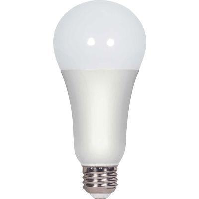 Satco S29816 A19/LED/3000K/1600L/120V/D, 15W LED A21, 3000K, 1600 Lumens, 300' Beam Spread