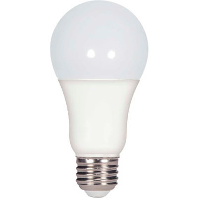 Satco S29817 15.5W A21 LED Lamp, 4000K, 1600L, 120V, Dimmable