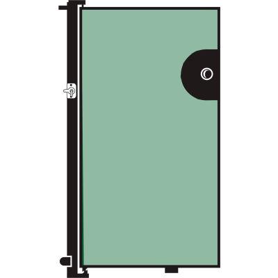 Screenflex 4'H Door - Mounted to End of Room Divider - Vinyl-Mint