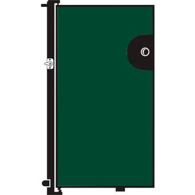 Screenflex 5'H Door - Mounted to End of Room Divider - Mallard