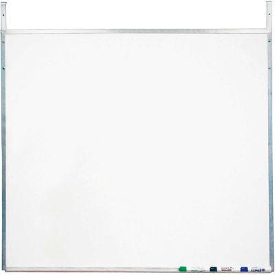Screenflex White Melamine Marker Board with Strap Hangers