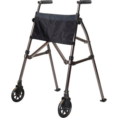 Stander™ 4300-BW EZ Fold N' Go Walker, Black Walnut