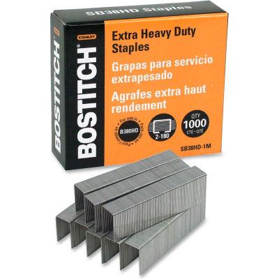 Stanley Bostitch® Heavy-Duty Staples, 180 Sheet Capacity, 100 Per Strip, 1000/Box