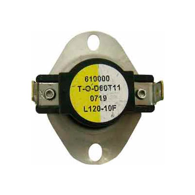 Supco Therm-O-Disc General Purpose Thermostat 180-160 - Min Qty 12