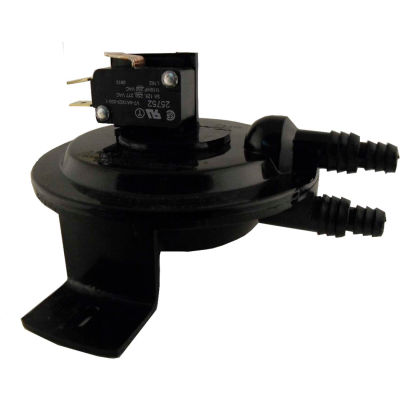 Supco RSS495011 Adjustable Air Press Sensing Switch 0.25 To 1.0 Pressure Range 120V to 277V