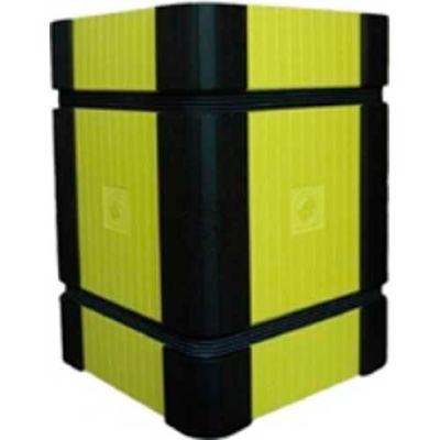 "Park Sentry® Column Protector - Corners, For 24"" x 24"" Square Columns, Black, 4/Carton"