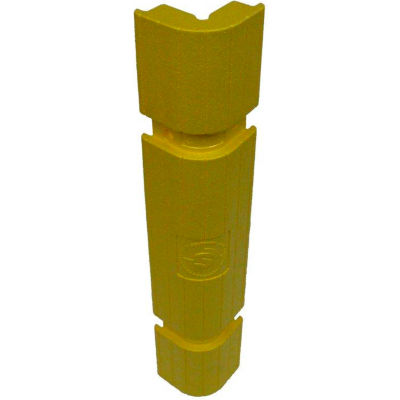 "Park Sentry® Column Protector - Corners, For 24"" x 24"" Square Columns, Yellow, 4/Carton"