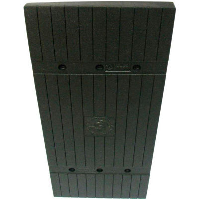 "Park Sentry® Column Protector - Planks, For 24"" x 24"" Square Columns, Black, 4/Carton"