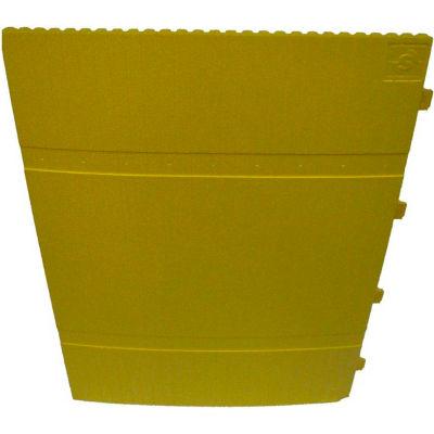 "Park Sentry® Column Protector - Round, For 24"" Dia. Round Columns, Yellow, 3/Carton"