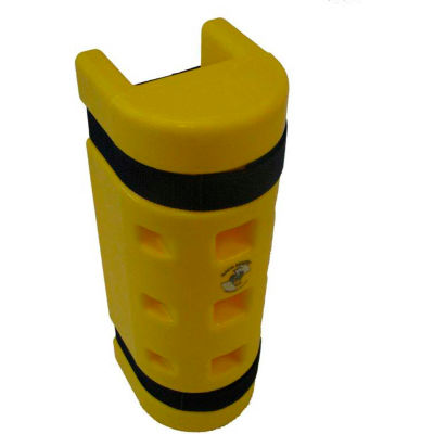 """Rack Sentry® Rack Protector, 4-3/4"""" x 3"""" Opening, 18""""H, Yellow"""