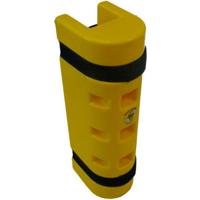 """Rack Sentry® Rack Protector, 3"""" x 3"""" Opening, 18""""H, Yellow"""