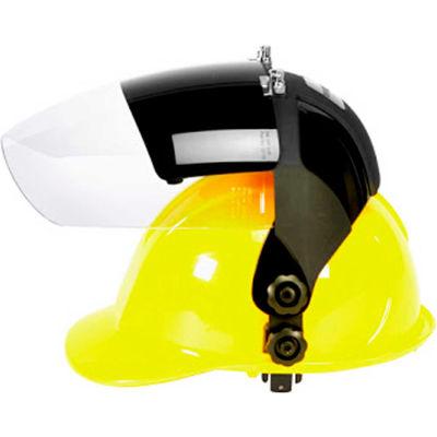 Sellstrom® S32182 DP4 Series Hard Hat Faceshield, Shade 8 IR, Poly, Anti-Fog, Flip-Up Window