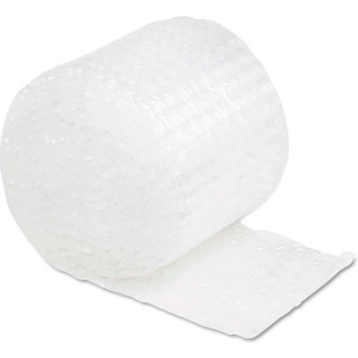 """Sealed Air Bubble Wrap® Cushioning Material, 12""""W x 30'L x 1/2"""" Thick, Clear, 1 Roll"""