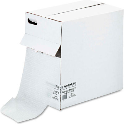 """Sealed Air Bubble Wrap® Self Clinging Air-Cushion, 12""""W x 175'L x 3/16"""" Thick, Clear, 1 Roll"""