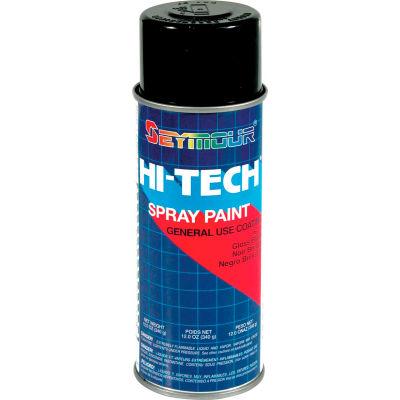 Hi-Tech Enamel 16 Oz. Gloss Black 6 Cans/Case - 16-115