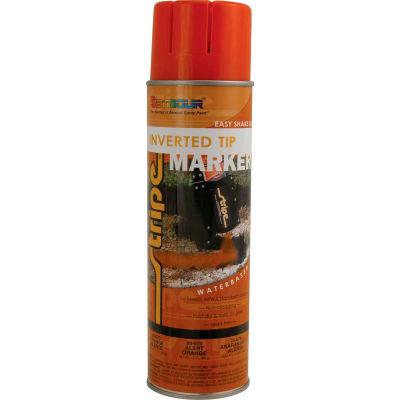 Stripe® Waterbase Street & Utility Marking Paint 20 oz. Alert Orange 20-670, 12/Case