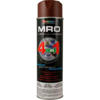 MRO Industrial Primer 20 Oz. Red Oxide Primer 6 Cans/Case - 620-1407