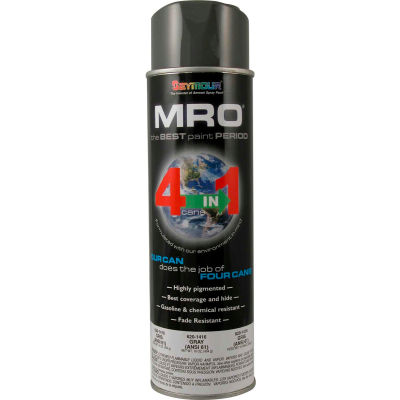 MRO Industrial Enamel 20 Oz. Gray(ANSI61) 6 Cans/Case - 620-1416