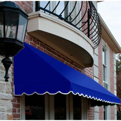 Awntech RF22-3BB, Window/Entry Awning 3-3/8'W x 2-9/16'H x 2'D Bright Blue