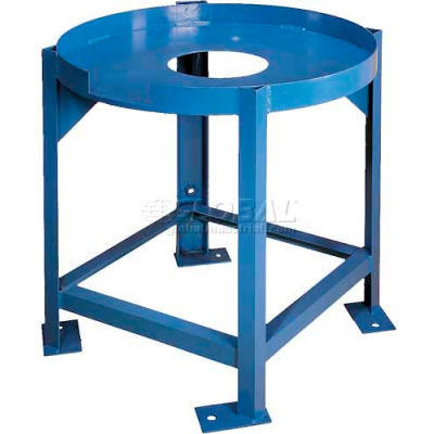 Elevated Stands w/Support for Saint-Gobain 500 Gallon Flat-Bottom Cylindrical Tank
