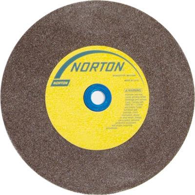"Norton 07660788277 Gemini Bench and Pedestal Wheel 8"" x 3/4"" x 1"" 60 Grit Aluminum Oxide"