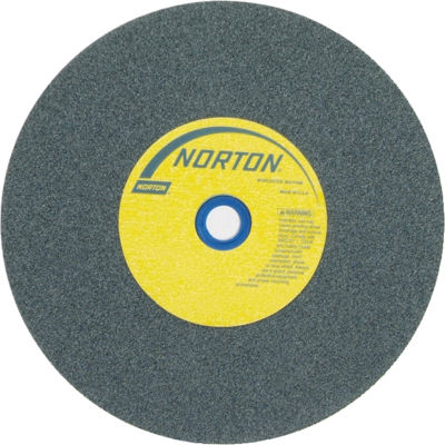 "Norton 66253044534 Gemini Bench and Pedestal Wheel 8"" x 1"" x 1"" 80 Grit Silicon Carbide"