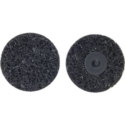 "Norton 66261013403 Bear-Tex Non-Woven Quick-Change Disc 3"" Dia. XCS Grit Silicon Carbide Type III - Pkg Qty 10"