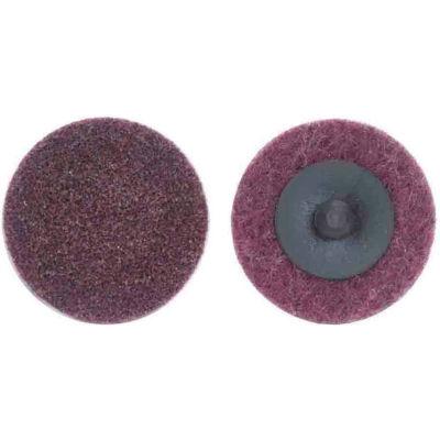"Norton 66261017522 Bear-Tex Non-Woven Quick-Change Disc 3"" Dia. MED Grit Aluminum Oxide Type III - Pkg Qty 25"