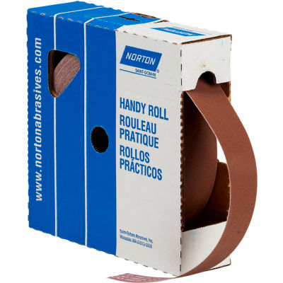 "Norton 66261126299 Metalite Cloth Roll 2""W x 50 Yds. Aluminum Oxide P80 Grit"