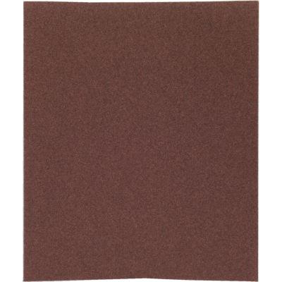 """Norton 66261126332 Metalite Cloth Sheet 9"""" x 11"""" P320 Grit Aluminum Oxide - Pkg Qty 50"""