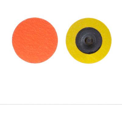 "Norton 66261162332 Blaze Quick-Change Cloth Disc 3"" Dia. 60 Grit Seeded Gel Ceramic Type III - Pkg Qty 25"