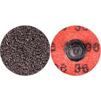 "Norton 66623318978 Neon Quick-Change Cloth Disc 1-1/2"" Dia. P40 Grit Zirconia Alumina Type III - Pkg Qty 100"