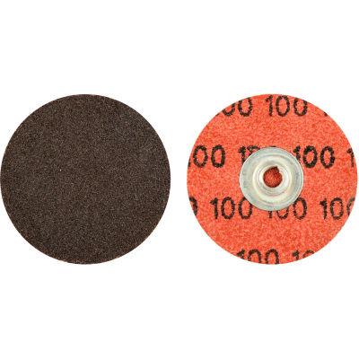"Norton 66623319004 Neon Quick-Change Cloth Disc 2"" Dia. P80 Grit Zirconia Alumina Type II - Pkg Qty 100"