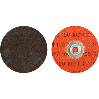"Norton 66623319020 Neon Quick-Change Cloth Disc 3"" Dia. P24 Grit Zirconia Alumina Type II - Pkg Qty 50"