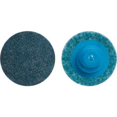 "Norton 66623325047 Bear-Tex Non-Woven Quick-Change Disc 1"" Dia. VF Grit Aluminum Oxide Type III - Pkg Qty 50"
