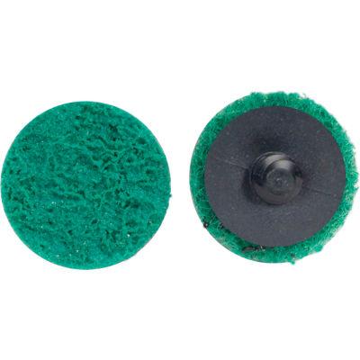 "Merit 66623340059 Abrasotex Non-Woven Quick-Change Disc 3/4"" Dia. FIN Grit Aluminum Oxide Type III - Pkg Qty 50"