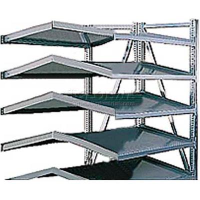 """Steel Pick Shelving, 5 Level, Double,Tilt/Tilt, 78""""H x 50""""W x 48""""D, Add-On"""