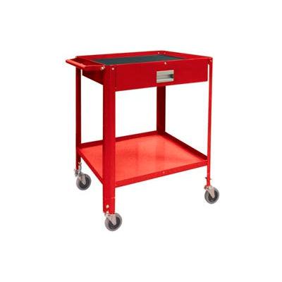 """Mini Technician Cart-22-1/4""""W x 18-1/4""""D x 34""""H-Carmine Red"""