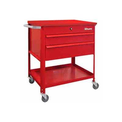 "Shure Tech Select Cart-Portable, 29-1/2""W x 18-3/4""D x 34-7/8""H-Carmine Red"
