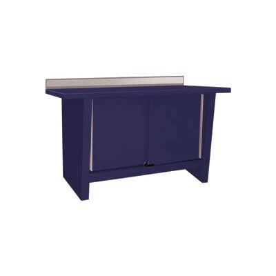 Custom® Series-Stationary, Steel Top, 2 Doors-St.Louis Blue