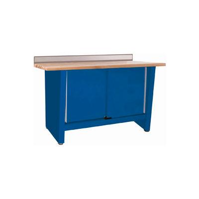 Custom® Series-Stationary, Hardwood Top, 2 Doors-Monaco Blue